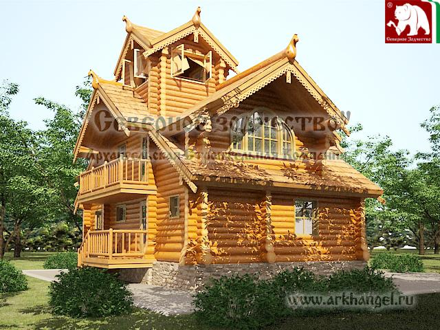 Log Homes ~ Russia ~ Arkhangel | Rustic Cabins ~ Home ~ Living ...